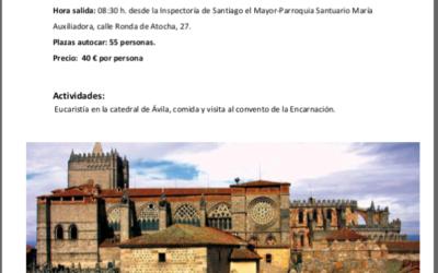 Peregrinación de ADMA a Ávila.