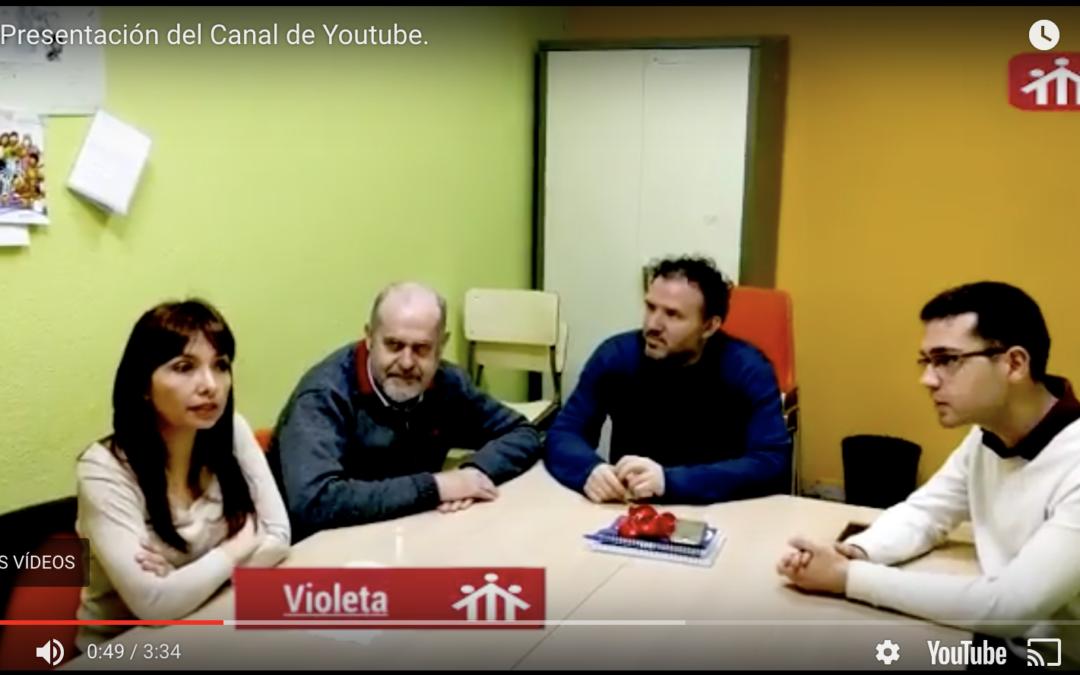 Video presentación del canal de YouTube