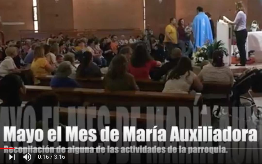 Fotos del Mes de María Auxiliadora
