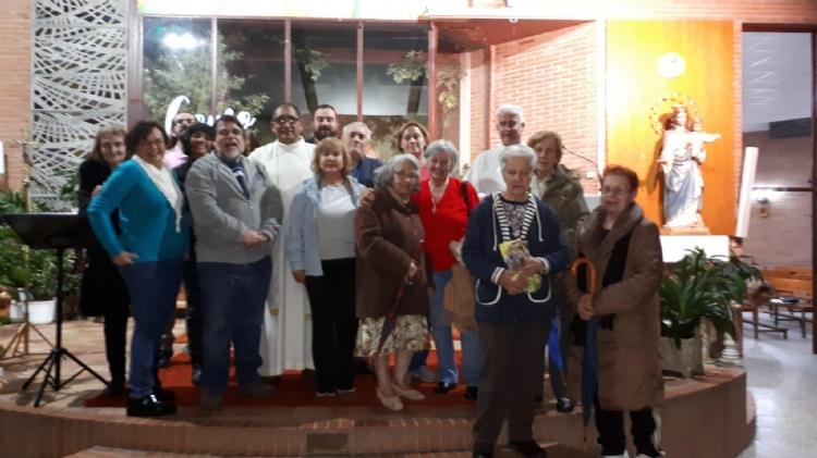 Monseñor Martín Quijano visita Salesianos Fuenlabrada