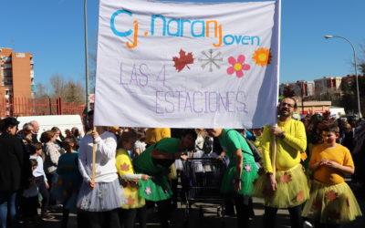 Carnaval y encuentro de ADOS en el Centro Juvenil