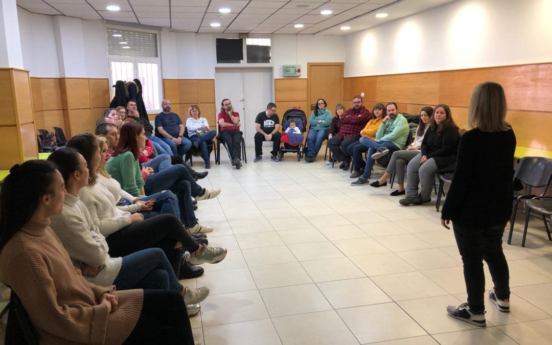 Encuentro de grupos y comunidades