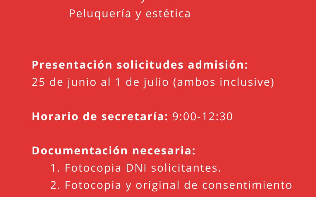 Oferta formativa curso 20-21