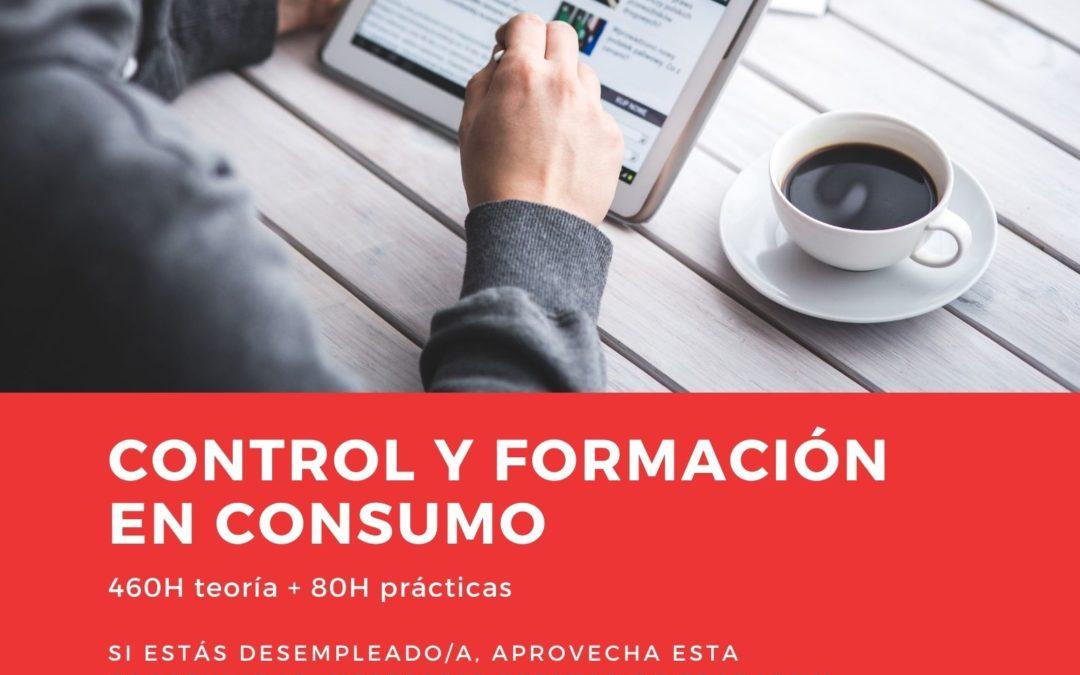 """Curso """"Control y formación en consumo"""""""